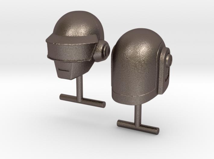 Daft Punk Cufflinks 3d printed