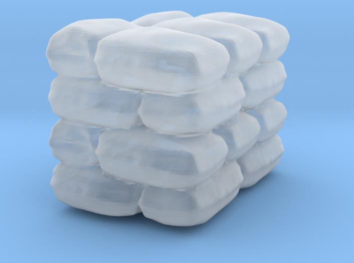Sack Pile HO Scale 3d printed