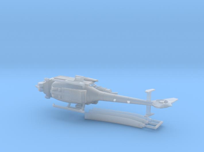 035B Modified Gazelle 1/144 3d printed