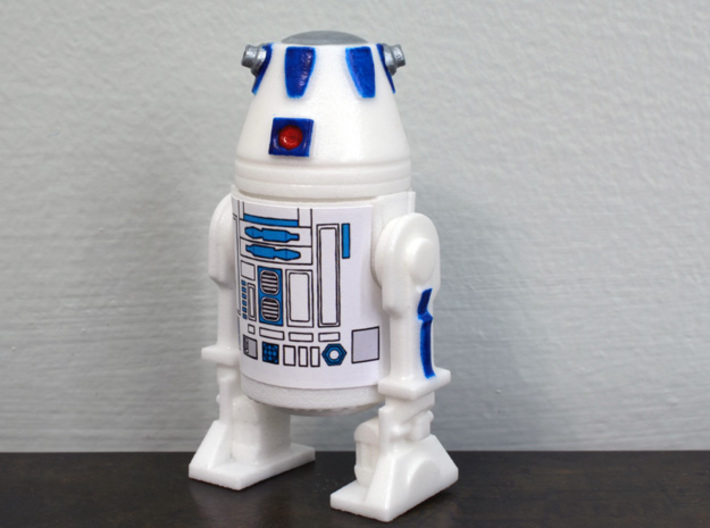 PRHI Kenner Astromech R2/R3/R4/R5 Kit - Head Peg 3d printed