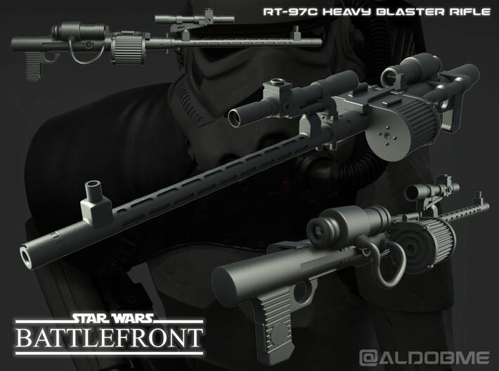 Star Wars RT-97C Heavy Rifle 3d printed