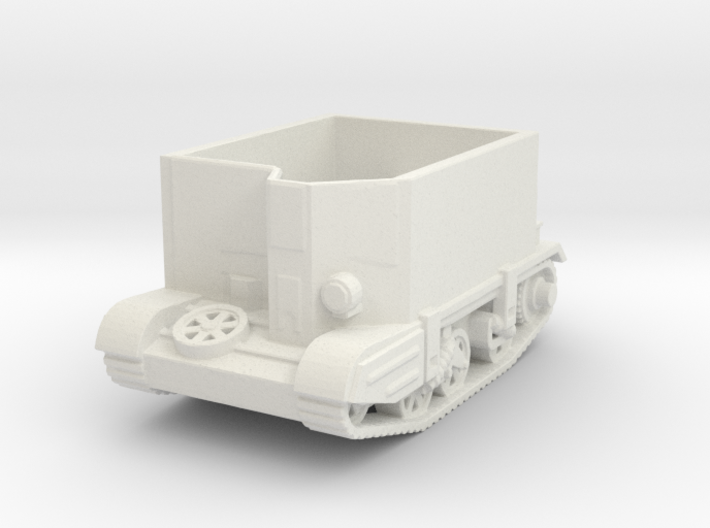 carrier deep wading 1/100 closed 3d printed