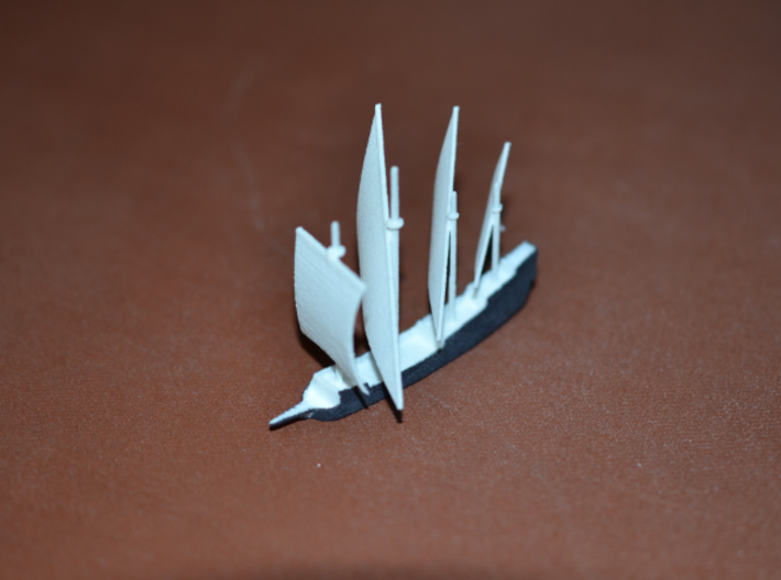 1/700 Caravela de Armada version 2 3d printed