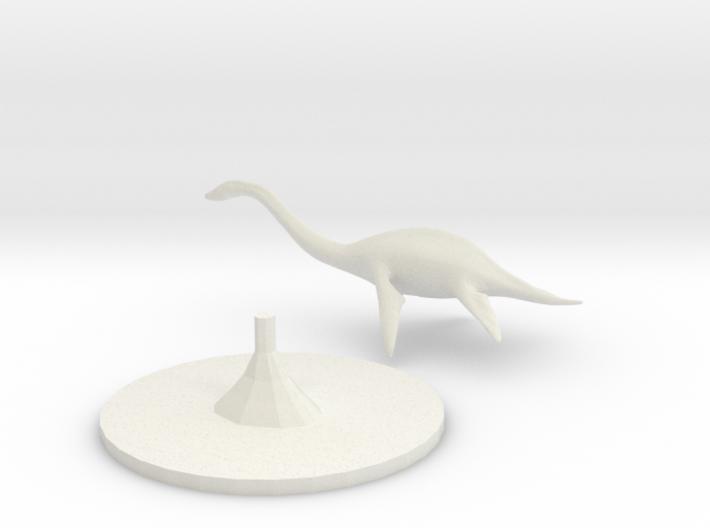 Plesiosaurus 3d printed