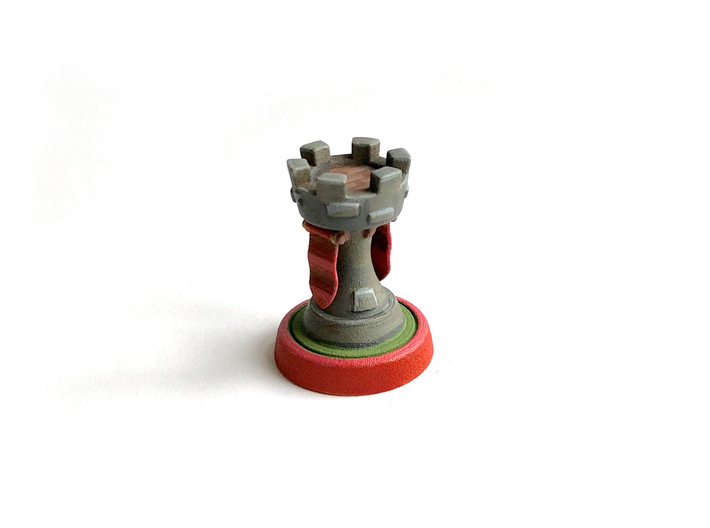 Chess piece - Rook/Castle 3d printed