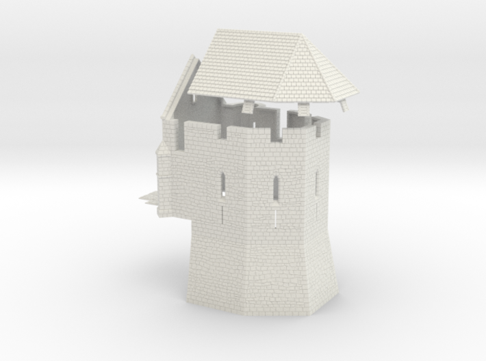 HOF061 - Castle chapel 3d printed