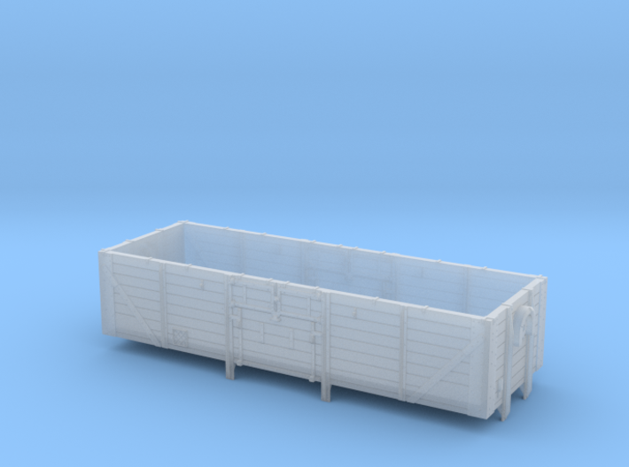 22001 Open Ferry Wagon 3d printed