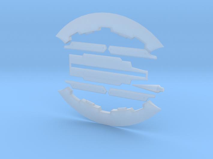 Sentinel Shin Getter Axe part 2 3d printed