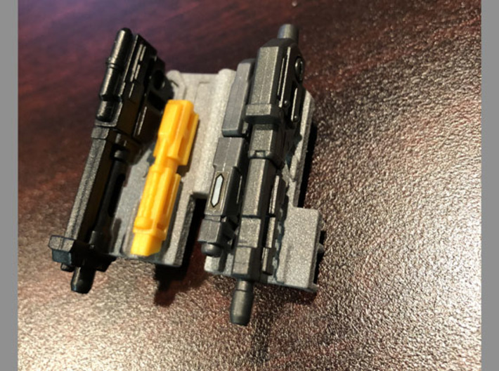 Arm filler for Fansproject Causality M3 Crossfire  3d printed With small guns