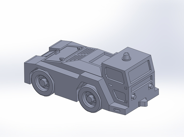 TugGT35 tractor 3d printed