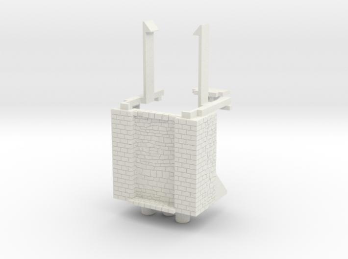 HOF023 - Base of the castle gate tower 3d printed
