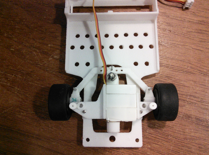 CK7 Chassis Kit for 1/32 Scale 2.4ghz RC Mag Steer 3d printed