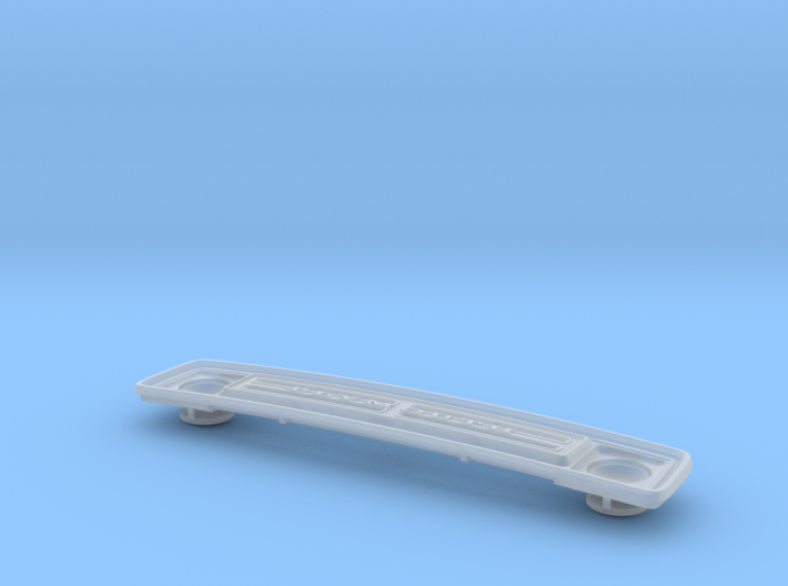 1/24 1974 Plymouth Trailduster Grill 3d printed