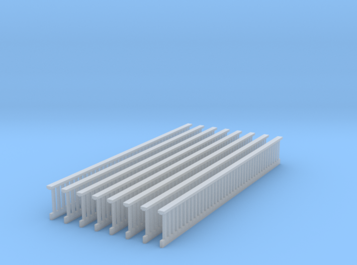1/64 Railing Deck s scale 3d printed