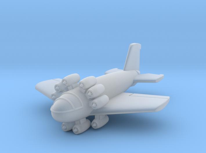 (1:200) Junkers Ju EF 009 3d printed