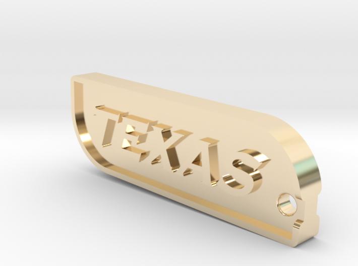 Dallas Texas Keychain 3d printed