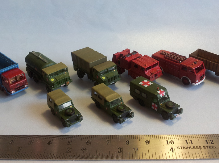 Land Rover 109 Escala N 3d printed