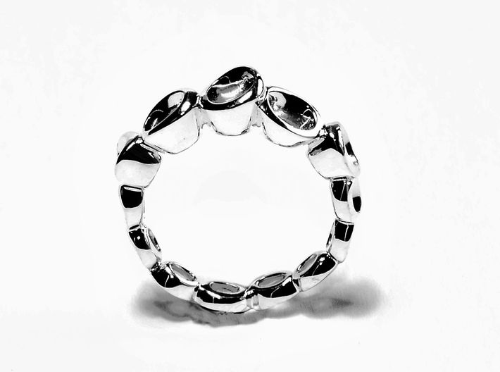 Dont know much about biology Ring.(From $13) 3d printed Silver Avatar Ring
