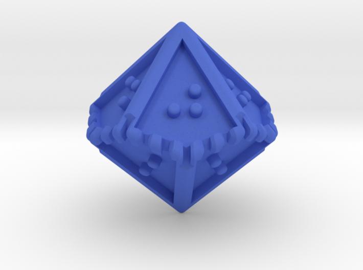 Braille Ten-sided Die d10 3d printed