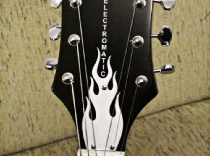 Guitar Truss Rod Cover (expanded) 3d printed