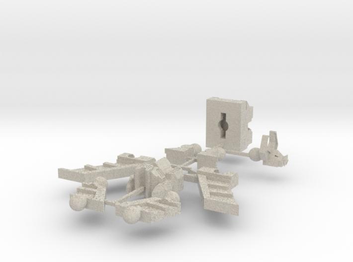 HeadRobot H-02 Thing-O-Wings 3d printed