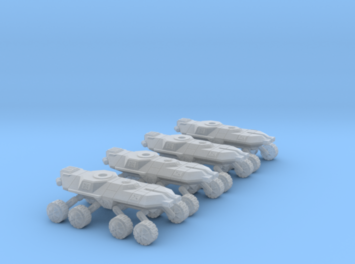 6mm Heavy Tank Chassis (4) 3d printed