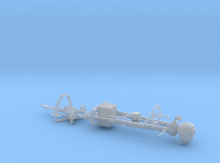 1/20 PT-588 SO-3 Radar Mast Set003 3d printed