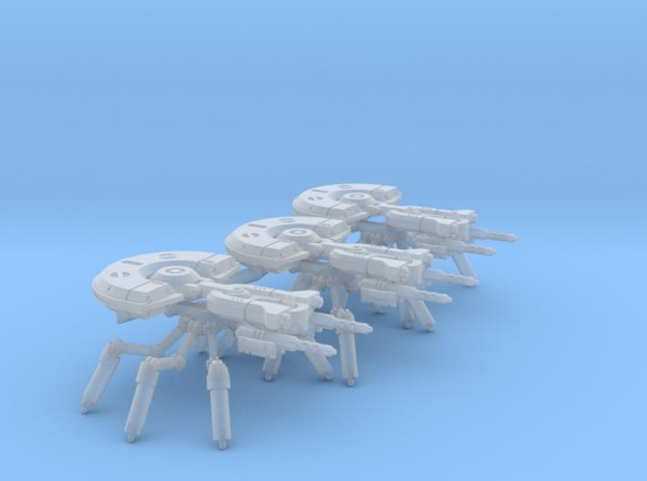 6mm Spider Tanks (3) 3d printed