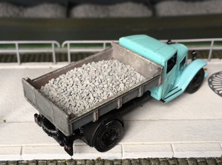 Dump for Citroën Type 23 - HO 1/87 3d printed