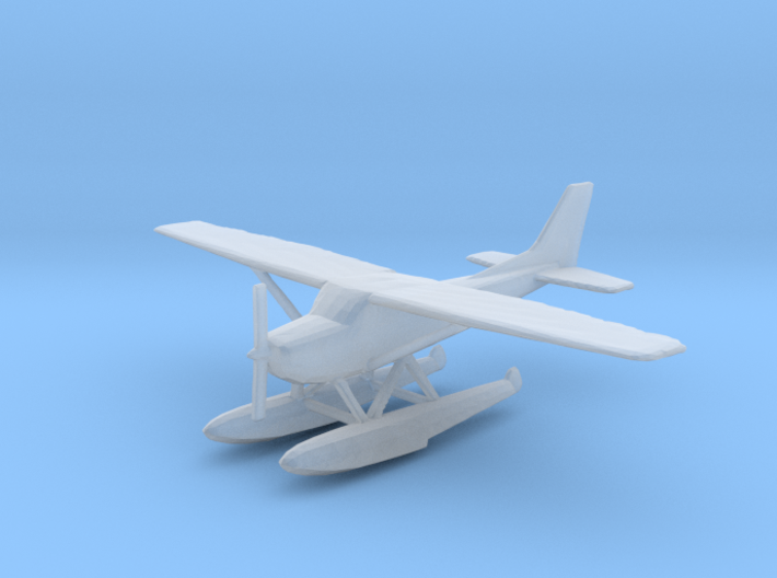 Cessna 172 Floatplane (1:200 and 1:400 Scales) 3d printed