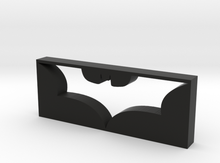 Dark Knight Logo 3d printed