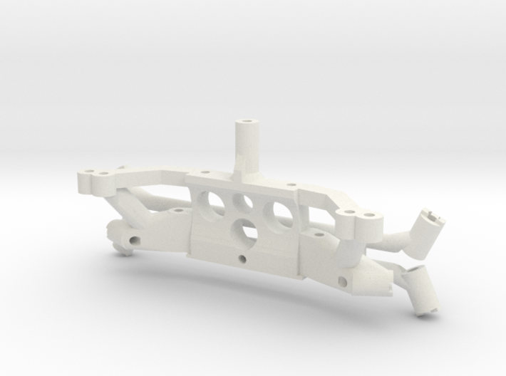 motor mount plastic parts for PN chassis 3d printed