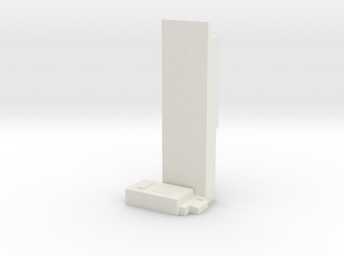 Beetham Tower - Manchaster (1:4000) 3d printed