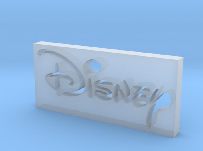 Disney Logo 3d printed