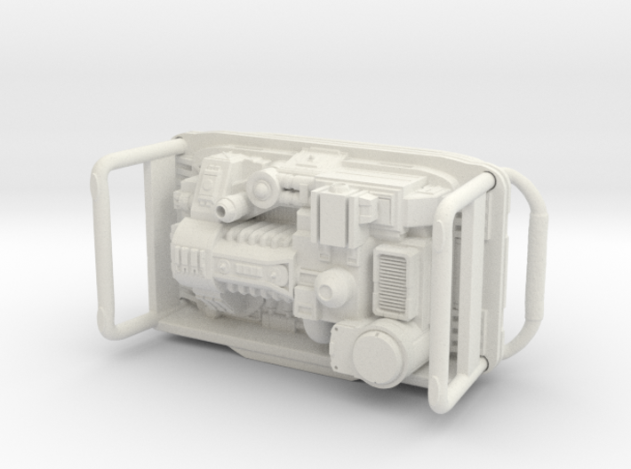 Portable Power Generator 1/24 scale 3d printed