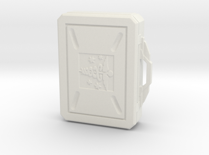 SciFi Medical Box with handle 3d printed