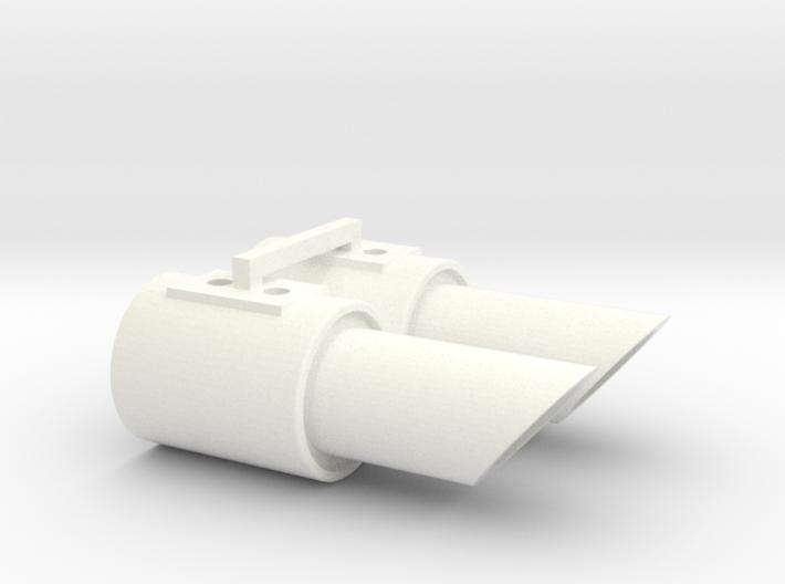 1:10 Drift Exhaust - Fat Bunny set 3d printed