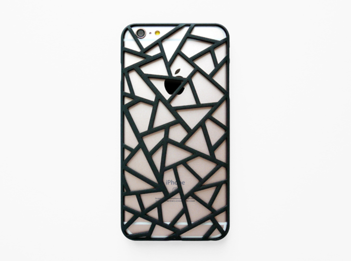 iPhone 6 plus / 6S plus Case_Triangles 3d printed