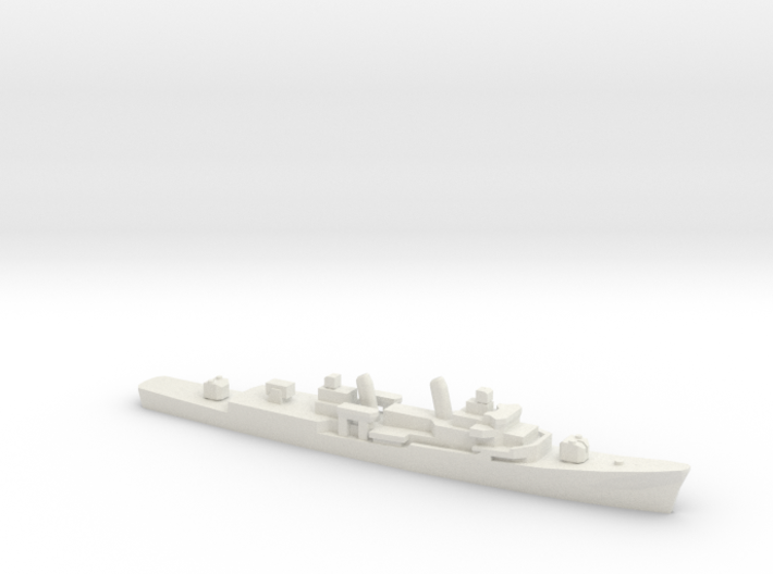 USS Barry (DD-933), 1/2400 3d printed