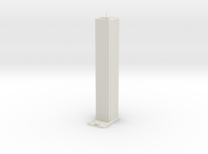 AON Center - Chicago (1:2000) 3d printed
