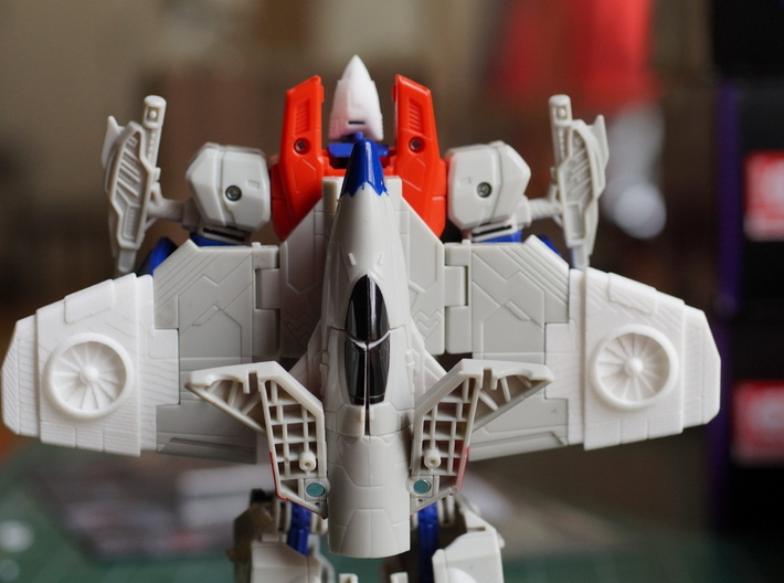 Thrust wings for Power of The Primes Starscream 3d printed