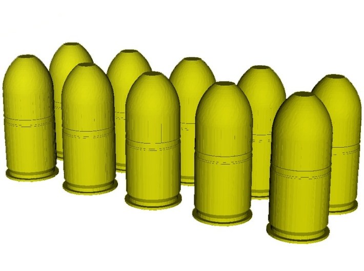 1/10 scale M-781 40x46mm grenades x 10 3d printed