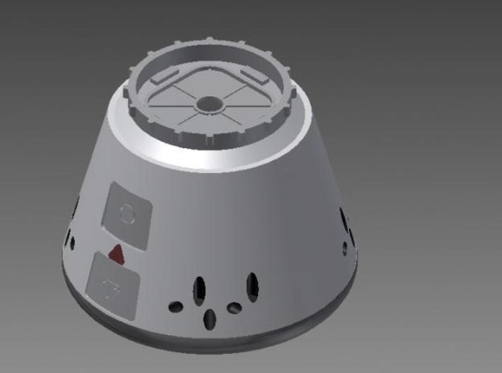Dragon Capsule 3d printed Image of 3D Model