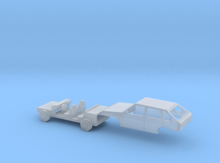 Lada Samara WAS 2109 N-Scale 3d printed
