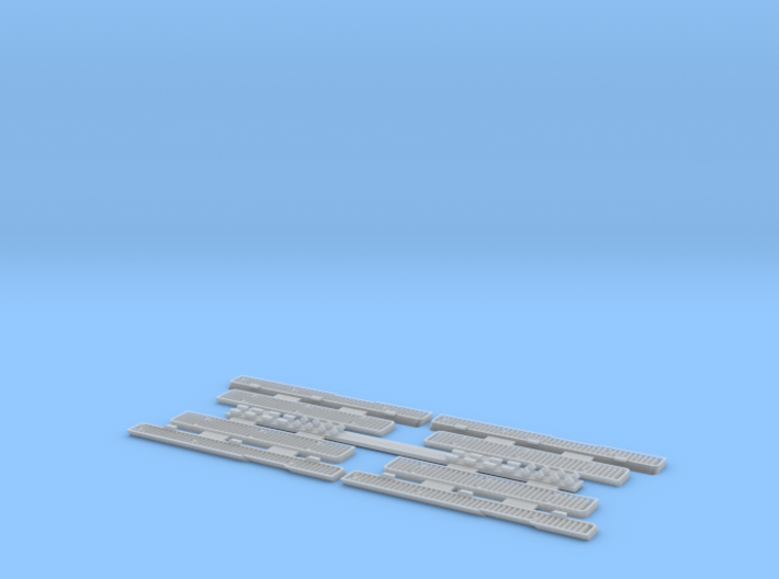 1:35 T-34 Grills Early for Dragon 3d printed