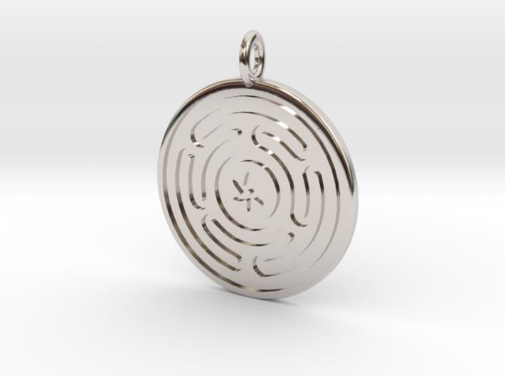 Wheel of Hecate pendant
