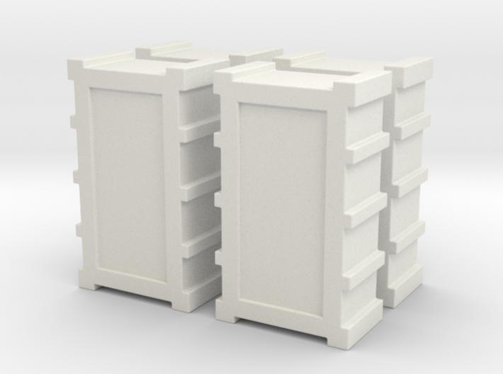 1:18 FALCON YT1300 ANH CARGO BOX SET MODEL A 3d printed