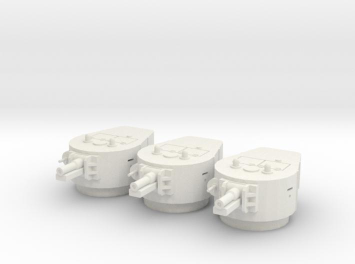 PV67F BT-7A Turret (x3) (1/48) 3d printed