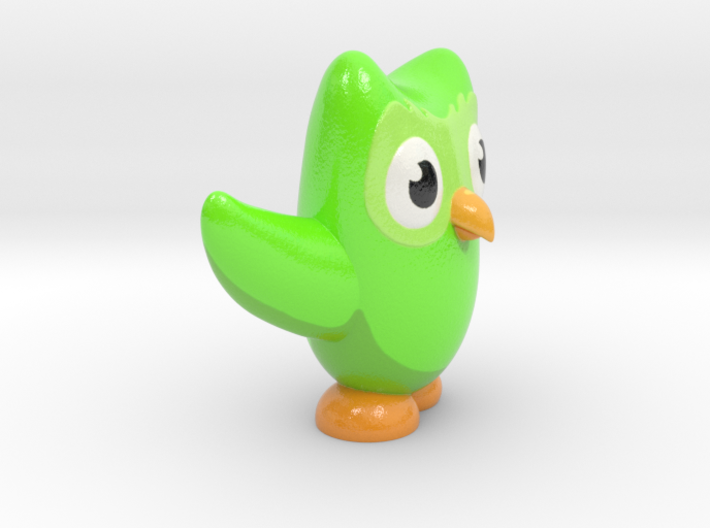 Duolingo Owl Figure 3d printed