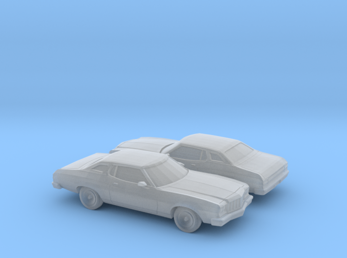 1/160 2X 1974-76 Ford Gran Torino Brougham Coupe 3d printed